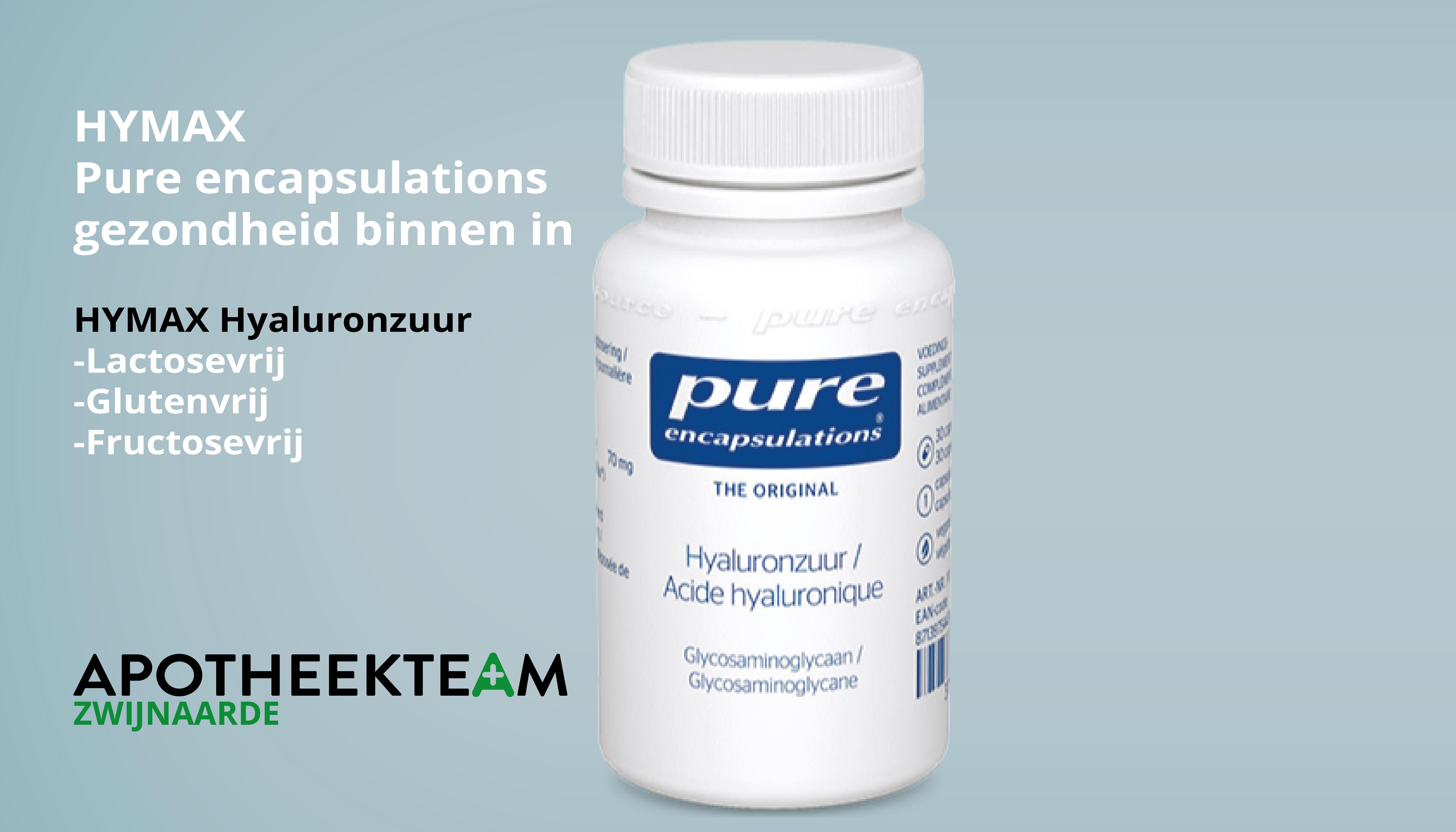Pure encapsulations verkrijgbaar bij Apotheekteam